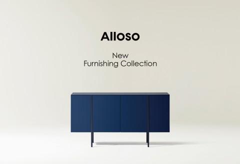 알로소가 퍼니싱 컬렉션을 론칭했다