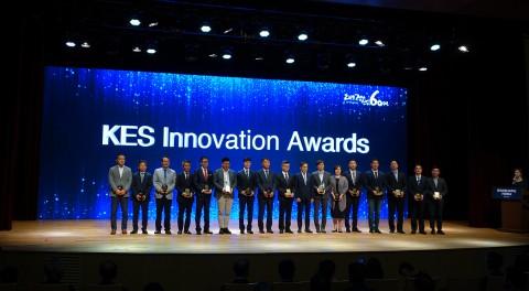 홈일렉코리아가 한국 전자전에서 KES 이노베이션 어워드를 수상했다