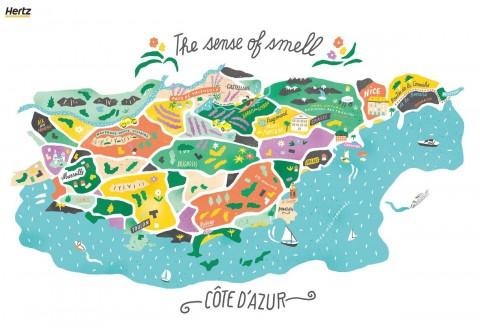 허츠가 프랑스 감성여행 컬렉션을 출시한다