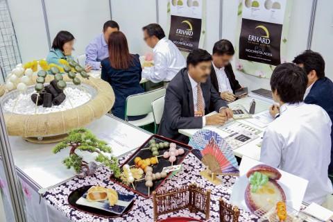 일본 식품 무역 전시회 현장