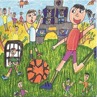 아동부 대상(디자인 부문)을 수상한 온양풍기초등학교 성윤후 학생의 그림일기 '누나의 소질을 키워주세요'