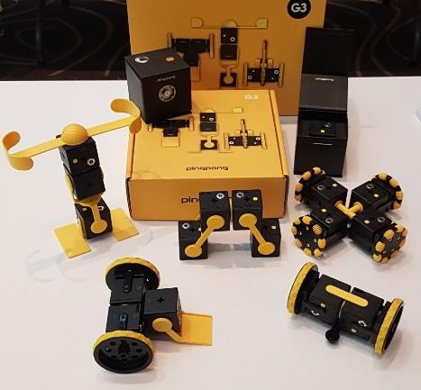 Smart toy robot PingPong