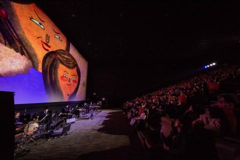 전통공연예술진흥재단은 영화관에서 동화음악회 공연을 개최한다