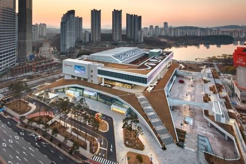 수원컨벤션센터 전경