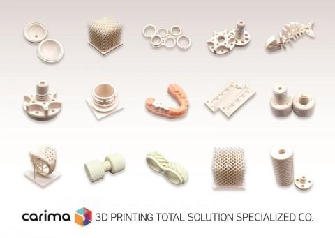 특수 부품(소재 부품, 우주항공 등), 필터류, 의료산업에 활용되는 세라믹 3D프린팅 응용사례