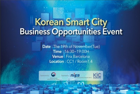 'Korean Smart City Business Opportunities Event', held by the Ministry of Land, Infrastructure and T...