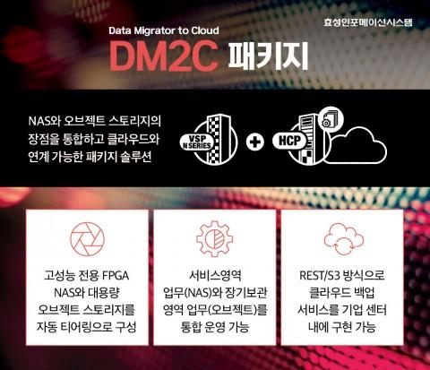 효성인포메이션시스템 DM2C 패키지