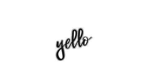옐로 브랜드 로고