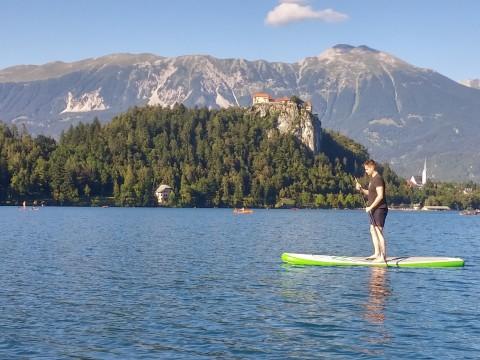 슬로베니아 블레드 호수 전경