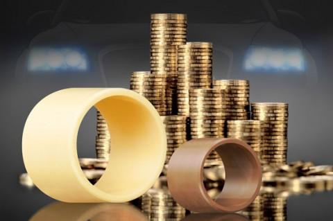 제품 가격뿐만 아니라 유지보수 및 제조 비용이 적게 드는 플라스틱 베어링은 금속 베어링보다 훨씬 경제적이다