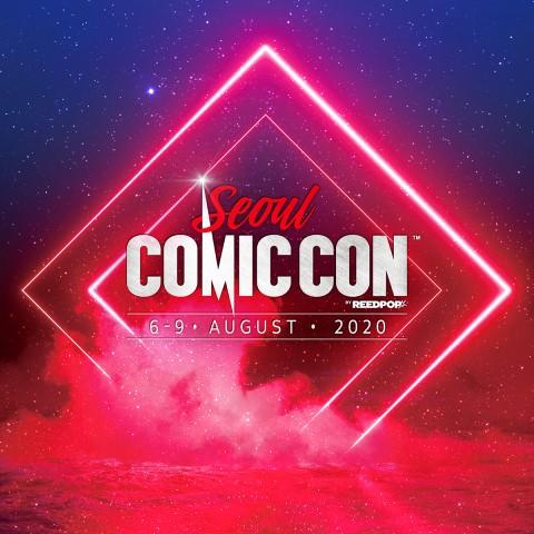 코믹콘 서울 2020 포스터