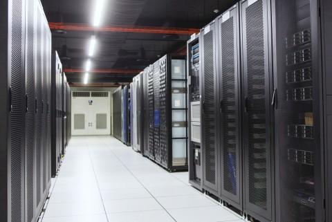 효성인포메이션시스템 DX센터 BMT실 전경