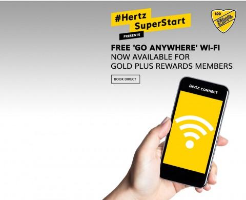 허츠가 무료 와이파이 단말기 서비스, 허츠 커넥트를 확대한다