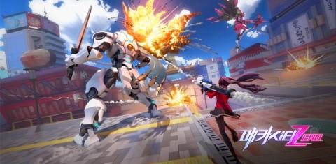 넷이즈의 메카닉 대전 모바일 게임 '메카시티: ZERO' 한국 출시