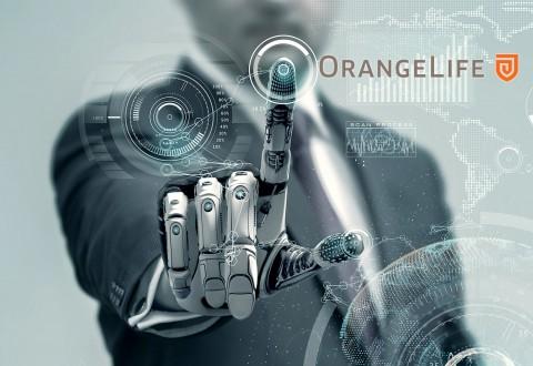 오렌지라이프가 AI기술을 접목한 인지기반 RPA를 도입했다