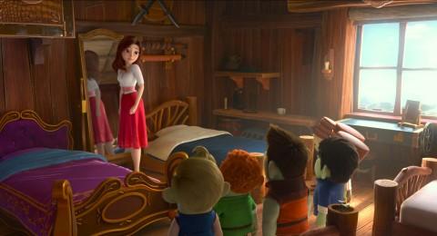 애니메이션 '레드슈즈'의 한 장면