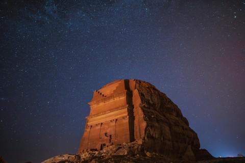헤그라 유적지 야경