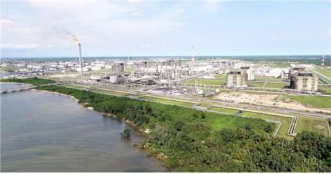 나이지리아 LNG 플랜트 전경