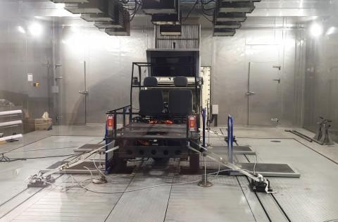 모헤닉 모터스 0.5톤 전기 상용차 플랫폼 후면