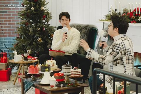 투썸플레이스가 배우 남주혁과 함께한 홀리데이 위시 스튜디오 이벤트