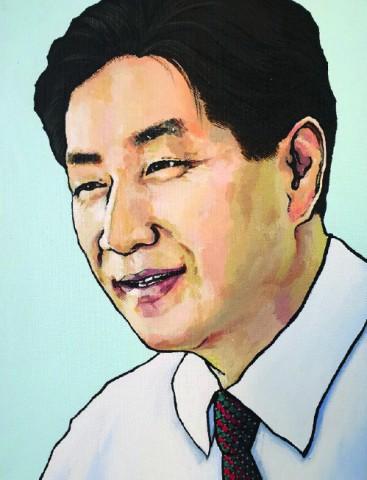 김순진 시인 초상화