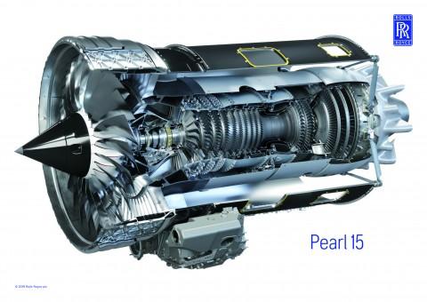 롤스로이스의 펄 15 엔진이 미국 인증을 획득했다