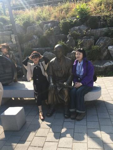 센트컬처의 '서울 미래유산 나들이 행사'에 참여한 시민들