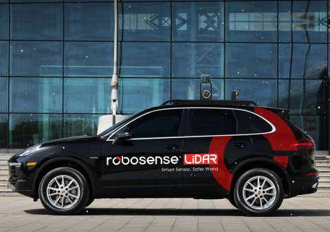 RoboSense Announces World 's First Public Road Test of Vehicle Equipped With Smart Lidar Sensor at C...