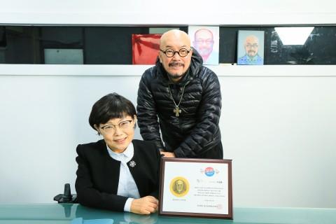한국장애예술인협회가 미캠페인 명예 대사로 패션디자이너 이상봉 위촉했다