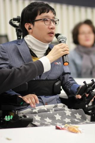 삼성서포터즈 활동 중인 김지아 씨