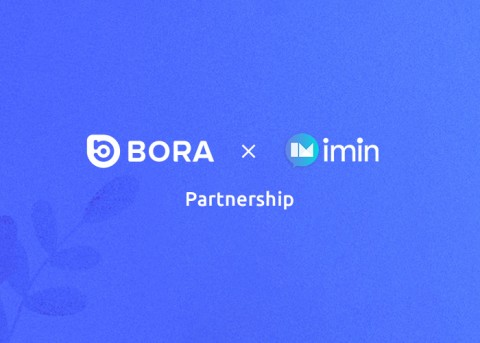 BORA X 아임인, 제휴 계약 체결