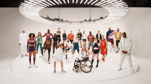 An international group of athletes joined the Nike 2020 Forum in New York to unveil the brand&#0...