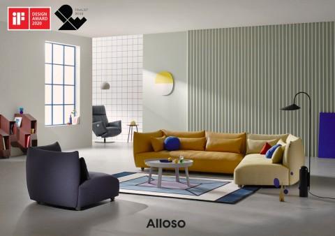 알로소의 케렌시아와 사티가 독일 2020 iF 디자인 어워드에서 2관왕을 수상했다