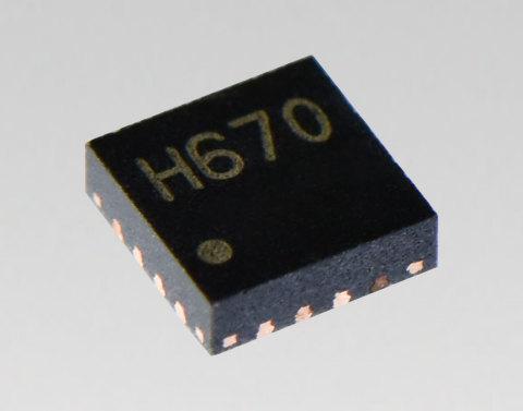 도시바가 소형·저전력·고해상도 마이크로 스테핑 모터 드라이버 TC78H670FTG를 출시했다