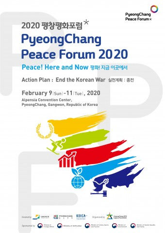 The PyeongChang 2018 Legacy Foundation will hold PyeongChang Peace Forum 2020 at PyeongChang Alpensi...