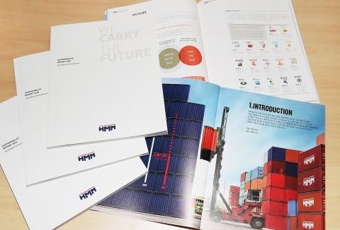 현대상선이 지속가능경영 추진 성과와 계획을 담은 2019 지속가능경영보고서를 20일 발간했다