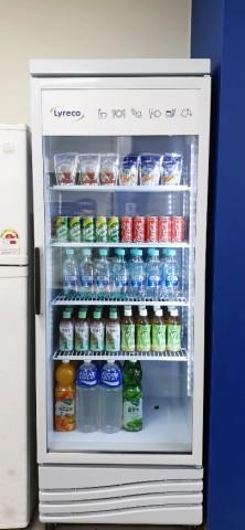 리레코 라운지 서비스 냉장고 고객사 실제 도입 사례