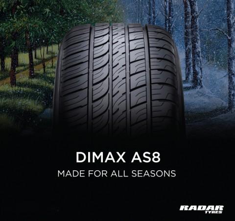 옴니 유나이티드 그룹의 글로벌 브랜드인 레이다 타이어의 공식 수입원인 썬베이가 올시즌 시리즈인 레이다 다이맥스 AS-8과 레이다 다이맥스 AS-6 제품을 출시했다