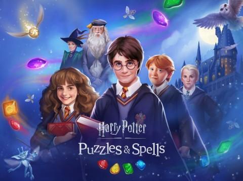 징가가 3매치 모바일 퍼즐 게임 해리포터:퍼즐스 앤 스펠스를 출시했다