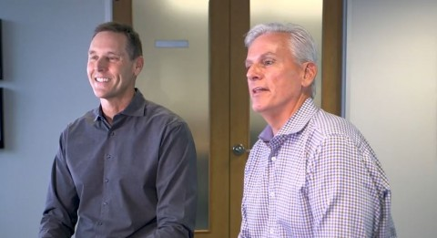 Lifesize와 Serenova가 합병했다. 왼쪽부터 Lifesize Craig Malloy 대표와 Serenova_John Lynch 대표