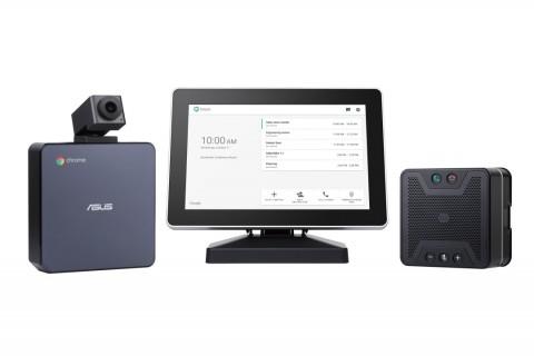 에이수스가 최상의 화상회의 솔루션 Hangouts Meet hardware kit를 국내에 출시했다