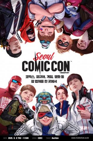 코믹콘 서울 2020 공식 포스터