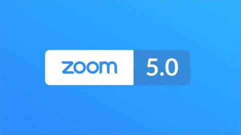 줌 비디오 커뮤니케이션즈가 줌 5.0을 공개했다