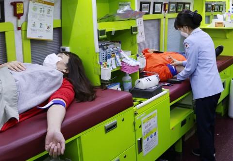 오렌지라이프가 코로나19 극복을 위한 임직원 헌혈 캠페인을 전개했다