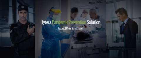 하이테라가 코로나19 위기에 대응하기 위한 솔루션을 개발했다