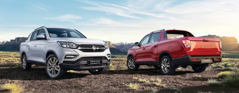 쌍용자동차 렉스턴 스포츠가 출시 27개월 만에 10만대 판매를 돌파했다