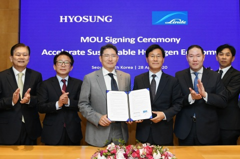 Hyosung and the Linde Group, a leading global provider of industrial gases, signed an MOU to invest ...