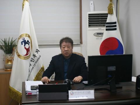 한국장애인복지사업회 회장 허룡