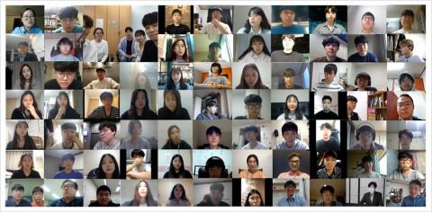2020 FIDO 해커톤 참가자 온라인 인터뷰 모습