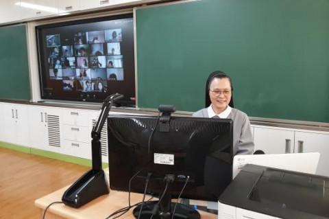 인천박문초등학교의 샤오또우 중국어 콘텐츠 활용한 원격 수업